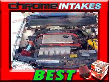 K&N+RED 92 93-98 VW GOLF GTI/CORRADO SLC/JETTA/PASSAT 2.8 2.8L VR6 V6 AIR INTAKE