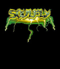 SOULFLY cd lgo LIGHTNING LOGO Official SHIRT SMALL New sepultura OOP