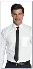 Cravatta Stretta Elegante NERA Cravattino Slim ragazzo Nero tie black 5 Cm VELOC