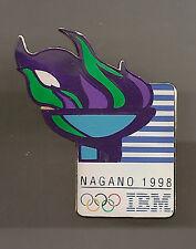 1998 IBM Olympic Torch Pin Nagano