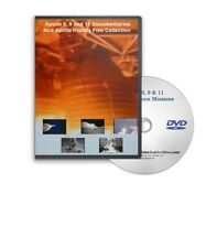 APOLLO 8, 9, 11 NASA MANNED MOON SPACE MISSIONS DVD - A131
