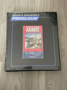 Pimsleur Modern Standard Arabic Volumes 1 (16 CDs, 30 Lessons)