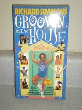 VHS MOVIE- RICHARD SIMMONS GROOVIN IN THE HOUSE- GOOD CONDITION- L76