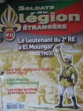 FASCICULE 42  LEGION ETRANGERE LEGIONNAIRE  LIEUTENANT 2e RE 190 3  FOREIGN