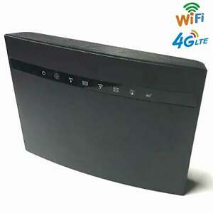 4G LTE WiFi CPE Router Mobile Hotspot CAT4 300Mbps With SIM Card Slot 32 Users