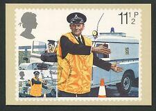 GB UK MK 1979 AUTO della POLIZIA POLICE CAR Maximum cartolina MAXIMUM CARD MC cm d6299