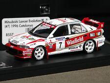 Winfield Logos Applied - Mitsubishi Lancer Evo '96 Catalunya -  HPI #8557 1/43