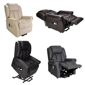 Hainworth Dual Motor rise riser recliner chair with heat and massage FREE SET-UP