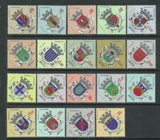 Angola 1963 - Angola City Arms, 1st Issue set MNH