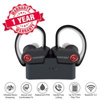 True Wireless Earbuds Bluetooth 5.0 Headphones Sport TWS Waterproof Mic Charging