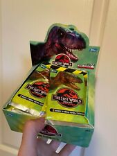 Jurassic Park: The Lost World Trading Cards - Topps - 1997 - booster