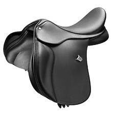 Bates All Purpose Saddle With Cair In Brown and Black With Changeable Gullet