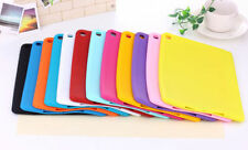 Rubber Silicone Soft TPU Back Case Cover For Apple iPad 2 3 4 Mini 2 3 Air Air2