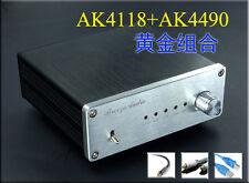 Finished SU4 AK4490EQ+AK4118 DAC 192K 24BIT Optical fiber coaxial input-SN