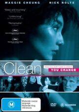 Clean (DVD, 2007) Brand New & Sealed Region 4 DVD  (D32) (D266)