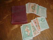 Vintage Old Maid Card Game Whitman Publishing Black Americana Military