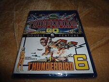 Thunderbirds Are Go! (1966) / Thunderbird 6 (1968) Double Feature [Blu-ray]