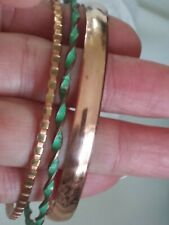 Copper VTG.bangle BRACELET Lot