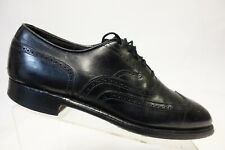 ALDEN? Black Sz 9 C/A Men Narrow Wingtip Dress Shoe Oxfords