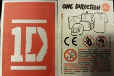ONE DIRECTION TEXTILE ADHESIVE PATCHES X30 LOOSE STICKERS