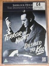 Sherlock Holmes - Terror By Night / Dressed To Kill (DVD)