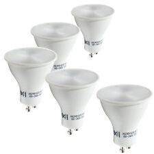 5 LED de ahorro de energía GU10 4 W bombillas de luz blanca cálida reemplaza Halógena 35 W - 50 W