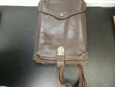 WWII GERMANY Leather Military Pilot Map Bag