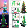 7 Colors Rotating Colorful Music Christmas Tree LED Water Lamp+Breathing Light