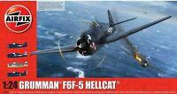 AIRFIX® 1:24 GRUMMAN® F6F-5 HELLCAT® WW2 MODEL AIRCRAFT MODEL KIT PLANE A19004