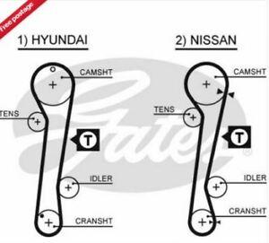 ENGINE TIMING BELT CAM BELT GATES 5309XS Hyundai Elantra Coupe Nissan Avenir