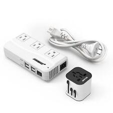 BESTEK Travel Adapter Converter Combo, 220v to 110v Voltage Overseas Converter