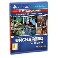 Uncharted Collection PS4 - The Nathan Drake Trilogy 3 Game New and Sealed