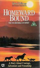 Walt Disney Homeward Bound The Incredible Journey VHS