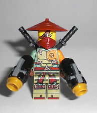 LEGO Ninjago - Ronin - Figur Minifig Ninja Rex R.E.X. Airjitzu Samurai 70735