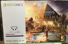 Xbox One S 500GB Console - Assassin's Creed Origins Bundle (Xbox One)