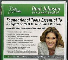 "Dani Johnson 10 Cd Set ""Dani Johnson Live In North Carolina"" Success Tools"