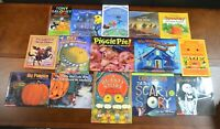 Set 15 PB Picture Books about Halloween Monsters Ghosts Pumpkins Witches L1