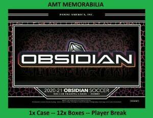 Youssoufa Moukoko Borussia 2020/21 Panini Obsidian 1X CASE 12X BOX BREAK #8