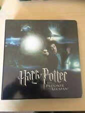 Harry Potter Prisoner of Azkaban 180 card set + Inserts and Promos in Binder