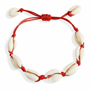 Bohemian Women Cowrie Beads Shell Anklet Bracelet Beach Foot Fashion Jewelry