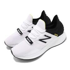 New Balance Fresh Foam roav D Blanco Negro Amarillo Para Hombre Zapatillas Para Correr mroavlwd