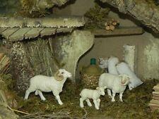 Papo Sheep Figurines Nativity Scene Presepio Animal Figure Pesebre Ovejas