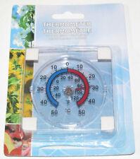 Thermomètre Rond Transparent Auto Adhésif Diamètre 6 cm NEUF