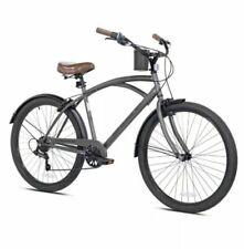"Kent 26"" Mens Bayside Beach Cruiser Bike *Satin Cocoa Brown* [Free Shipping]"