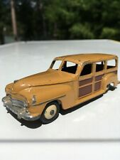 DINKY TOYS 344G ESTATE CAR STATION WAGON 1954 TAN MADE IN ENGLAND MECCANO
