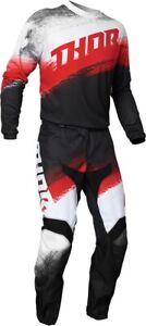 Thor MX Sector Vapor / Warship Jersey & Pant Combo Set ATV Motocross Riding Gear