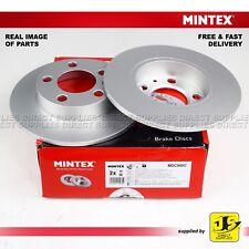 2X MINTEX REAR DISC BRAKES MDC980C FOR AUDI A1 A2 A3 TT SEAT SKODA VW GENUINE
