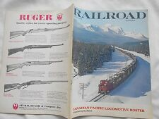 RAILROAD MAGAZINE-FEBRUARY,1972-CANADIAN PACIFIC LOCOMOTIVE ROSTER