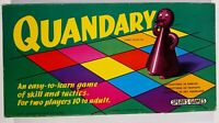 Quandary Spears Games Board Game 1970 Vintage 100% Complete