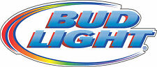 "Bud Light Beer Alcohol Bumper sticker, wall decor, vinyl decal, 5""x2.2"""